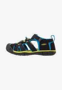 Keen - SEACAMP II CNX - Chodecké sandály - black/brilliant blue - 1