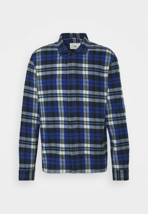 PATCH - Shirt - blue brushed check