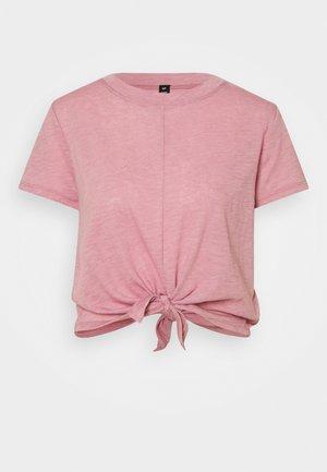 LIFESTYLE TIE UP - T-shirt imprimé - orchid smoke
