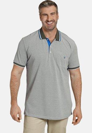 EARL IVOR - Poloshirt - oliv melange