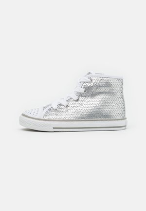 High-top trainers - argento