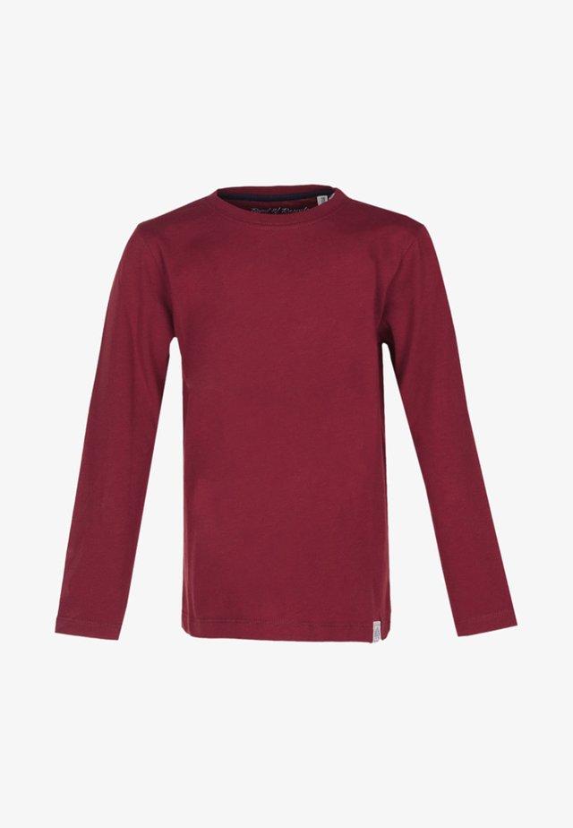 LONGSLEEVE BASIC - Pitkähihainen paita - red