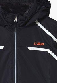 CMP - GIRL SNAPS HOOD - Lyžařská bunda - dark blue/coral - 2