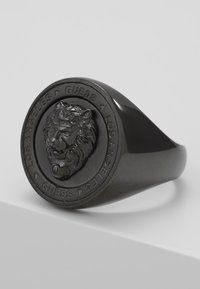 Guess - LION HEAD COIN  - Ring - gunmetal - 4