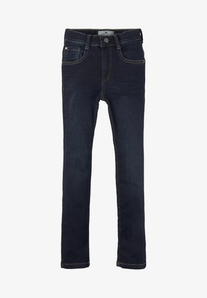 Straight leg jeans - dark blue denim|blue