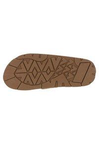 Gaastra - T-bar sandals - cognac - 4