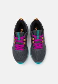 ASICS - GEL-VENTURE 8 UNISEX - Trail running shoes - carrier grey/orchid - 3
