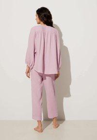 OYSHO - Pyjama bottoms - mauve - 2