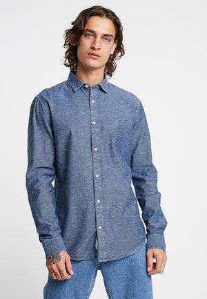 ONSTED SLUB CHAMBRAY  - Skjorta - dark blue denim