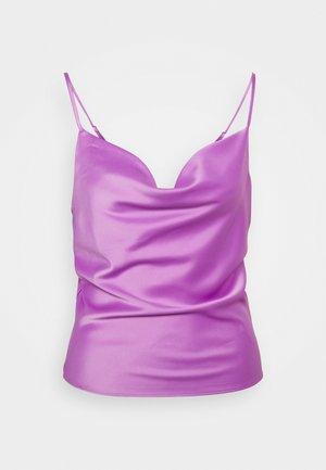 SINGLET - Topper - purple