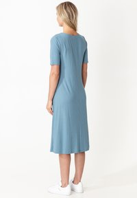 Indiska - DRESS MAYA - Shirt dress - blue - 2