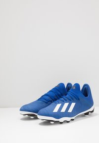 adidas Performance - X 19.3 MG - Moulded stud football boots - royal blue/footwear white/core black - 3
