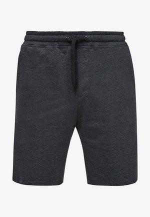 Shorts - black heringbone
