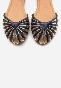 s.Oliver - Ankle strap ballet pumps - multicolour - 5