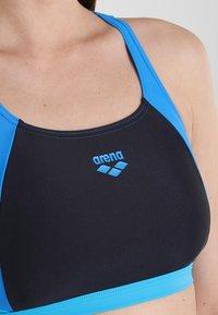 Arena - TWO PIECE SET - Bikini - black/pix blue/turquoise - 3