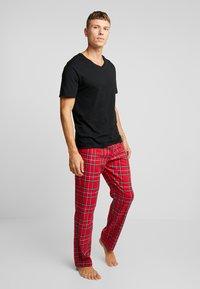 Champion - Pyjamasöverdel - black - 1