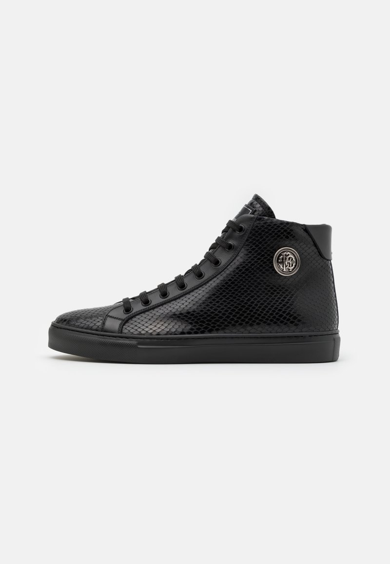 Roberto Cavalli - High-top trainers - black