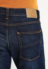 Nudie Jeans - LEAN DEAN - Jeans slim fit - dark deep worn - 5