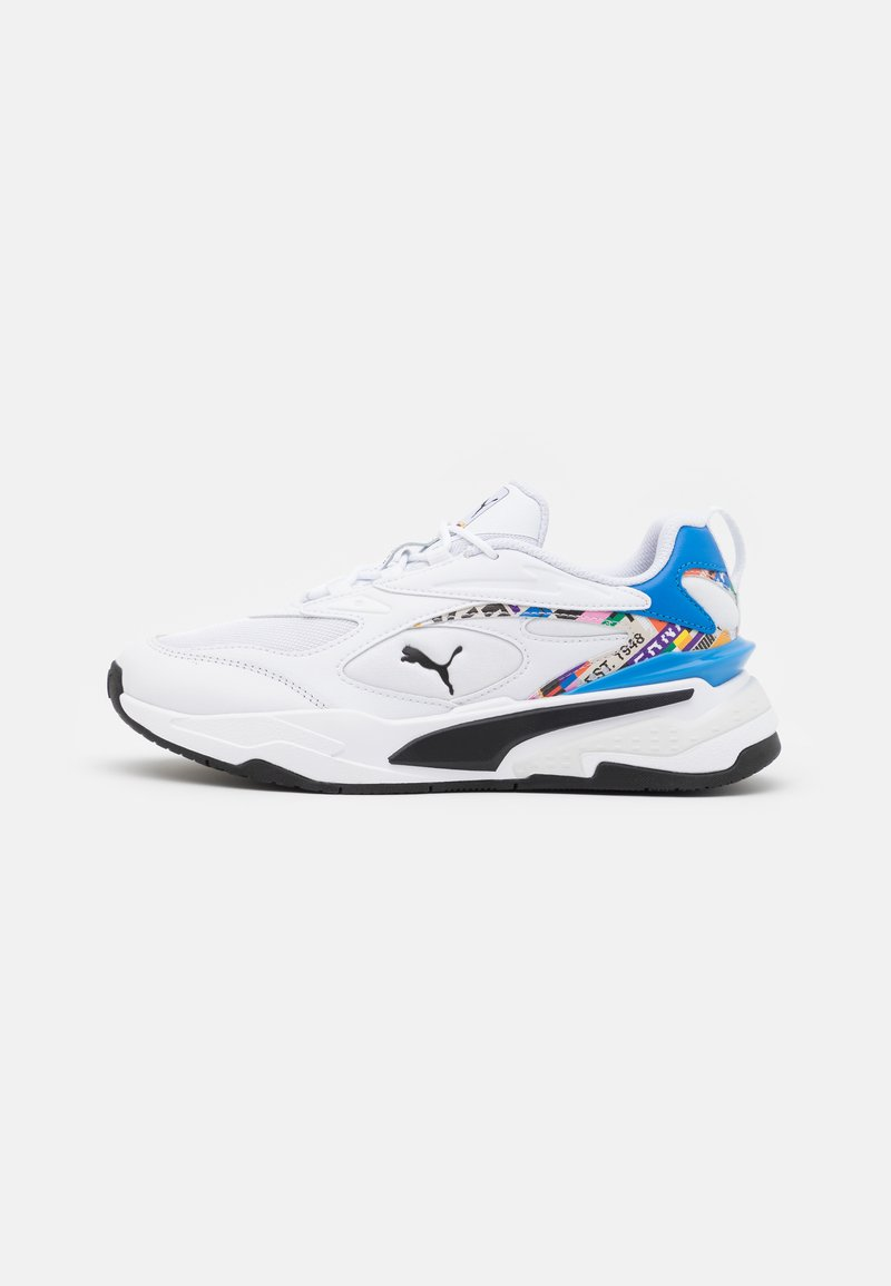 Puma - RS FAST INTL GAME JR - Trainers - white/empire yellow
