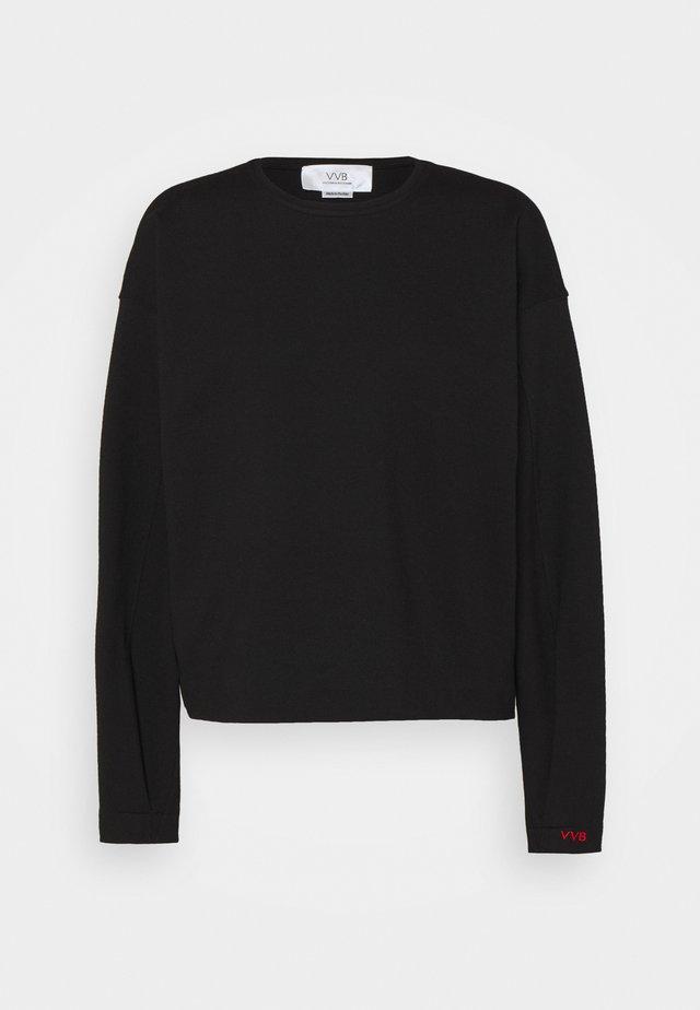 DROPPED SHOULDER - Sweatshirt - black