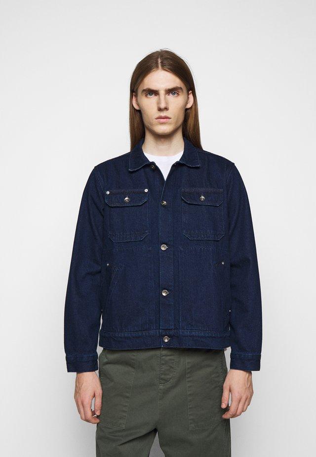 MADS JACKET - Veste en jean - blue