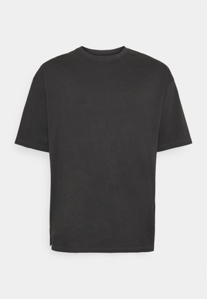 OVERSIZED TEE BIGUNI - Basic T-shirt - dusty black