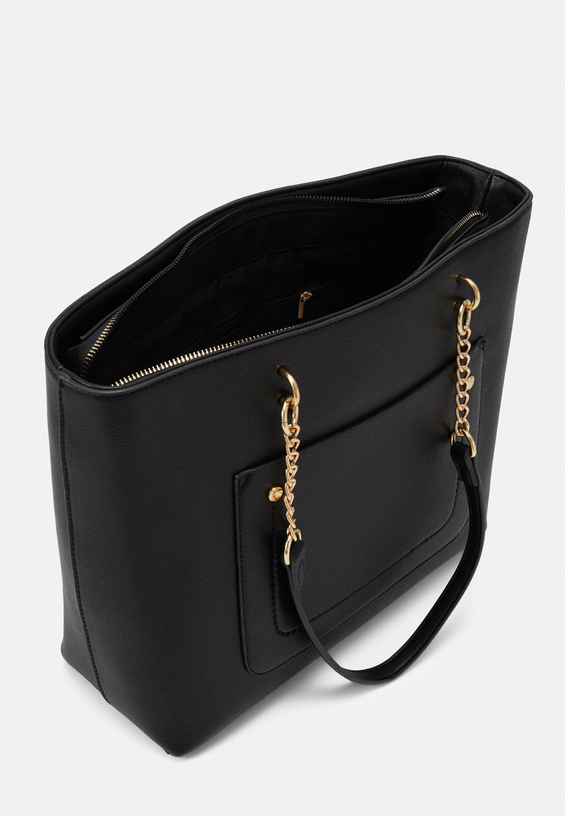 Dorothy Perkins SLIP POCKET CHAIN HANDLE Håndveske black
