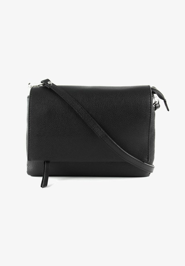 THREE CROSSBODY BAG - Across body bag - nero