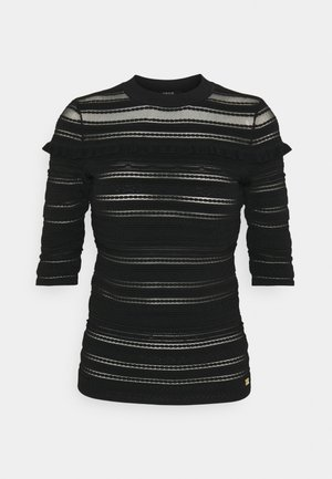 GEIRA  - Print T-shirt - black