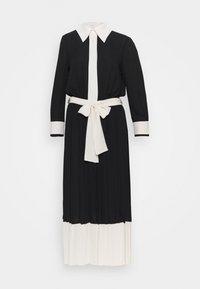 WOMEN DRESS - Košilové šaty - nero/burro