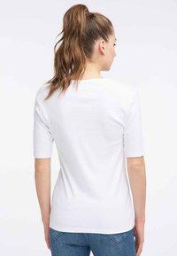 Petrol Industries - Print T-shirt - bright white - 2