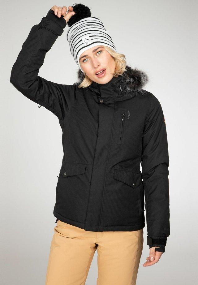 AMANDA - Snowboardjas - true black