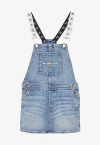 Calvin Klein Jeans - DUNGAREE DRESS  - Denimové šaty - denim - 3