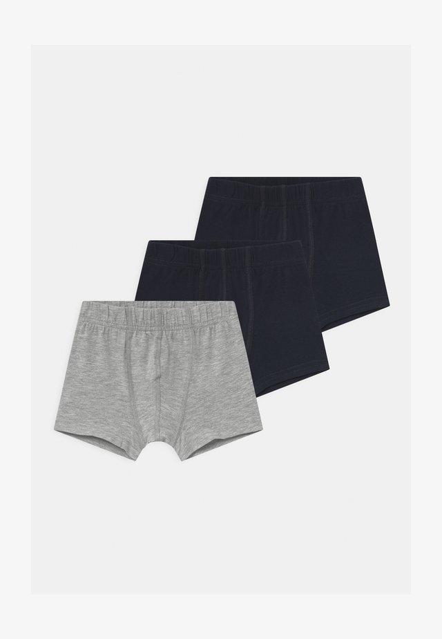NMMTIGHTS 3 PACK - Pants - grey melange