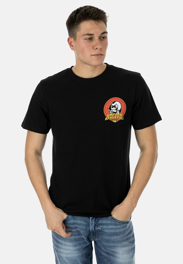 PB KNIFE - Print T-shirt - black