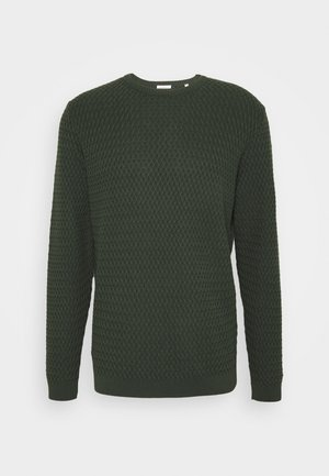 SMALL DIAMOND - Strikpullover /Striktrøjer - forrest night