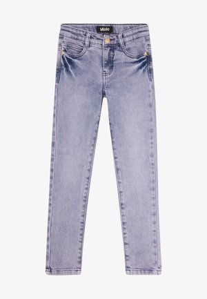 ADELE - Jeansy Skinny Fit - grey purple denim