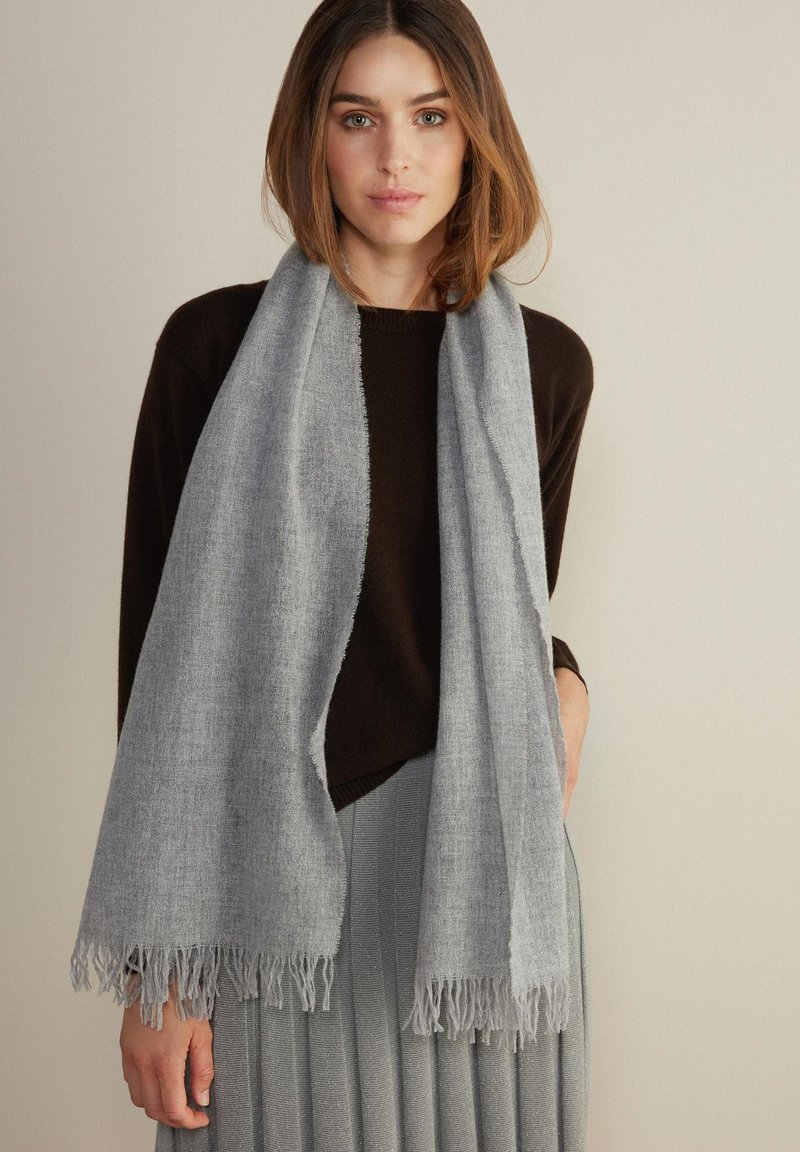 Falconeri - Scarf - grau - 8613 - diamante