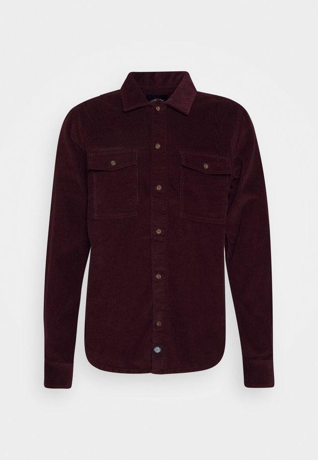 FORT POLK CORD - Shirt - maroon