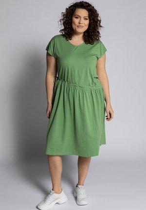 Jersey dress - erbse