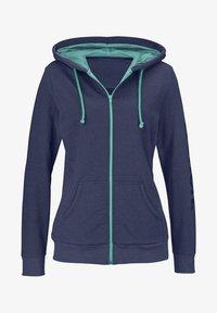 Bench - Zip-up hoodie - blau-meliert - 0