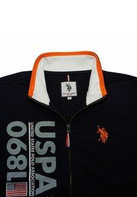 U.S. Polo Assn. - MIT REISSVERSCHLUSS - Zip-up sweatshirt - dunkelblau - 3