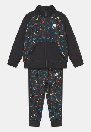 PRINT SET UNISEX - Training jacket - black