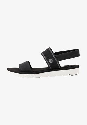 LOTTIE LOU 2 BAND - Sandals - black