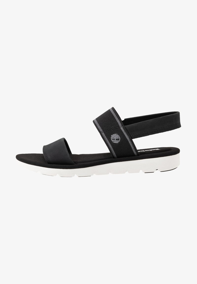 Timberland - LOTTIE LOU 2 BAND - Sandals - black