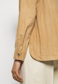Alberta Ferretti - Kožená bunda - beige - 4