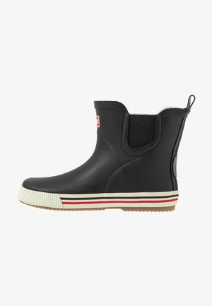 RAIN BOOTS ANKLES UNISEX - Wellies - black