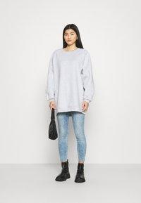 American Vintage - BEATOWN - Sweatshirt - gris clair chine - 1