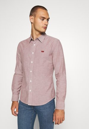 BATTERY SLIM - Camicia - light red