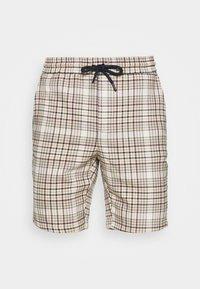 Only & Sons - ONSLINUS CHECK SHORTSDT  - Shorts - chinchilla - 3